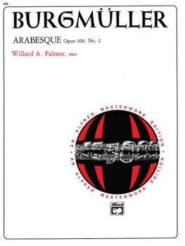 Arabesque, Opus 100, No. 2 (AL-00-866)