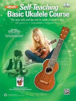 Alfred's Self-Teaching Basic Ukulele Course: The New, Easy, and Fun Wa (AL-00-44430)