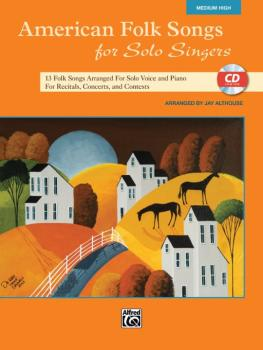 American Folk Songs for Solo Singers: 13 Folk Songs Arranged for Solo  (AL-00-35564)