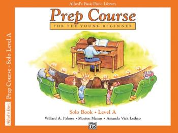 Alfred's Basic Piano Prep Course: Solo Book A (For the Young Beginner) (AL-00-3095)