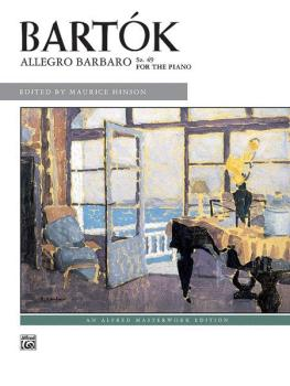 Allegro Barbaro, Sz. 49 (AL-00-8085)