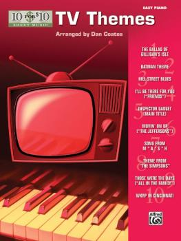 10 for 10 Sheet Music: TV Themes (AL-00-33222)
