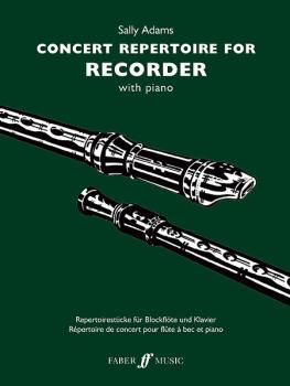 Concert Repertoire for Descant Recorder (AL-12-0571523862)