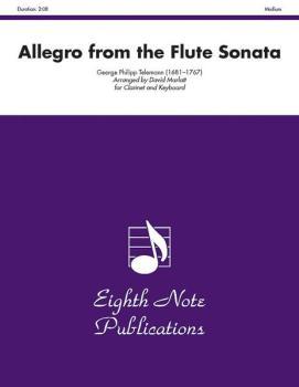 Allegro (from the Flute Sonata) (AL-81-SC2218)