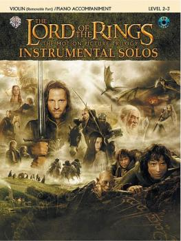 <I>The Lord of the Rings</I> Instrumental Solos for Strings (AL-00-IFM0412CD)