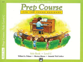 Alfred's Basic Piano Prep Course: Solo Book C (For the Young Beginner) (AL-00-3137)