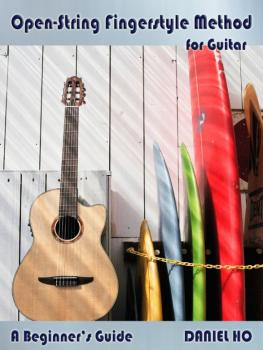 Open-String Fingerstyle Method for Guitar (A Beginner's Guide) (AL-98-DHC80075)