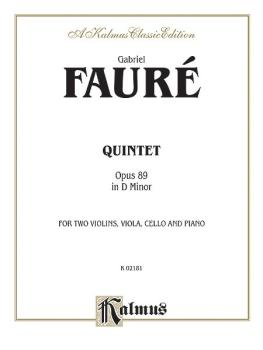 Quintet in D Minor, Opus 89 (AL-00-K02181)