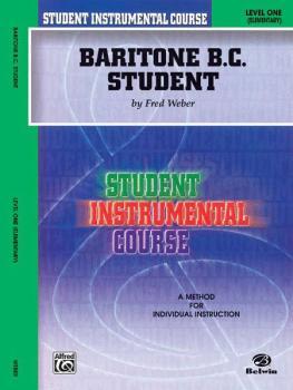 Student Instrumental Course: Baritone (B.C.) Student, Level I (AL-00-BIC00161A)