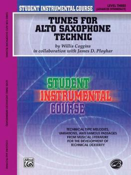 Student Instrumental Course: Tunes for Alto Saxophone Technic, Level I (AL-00-BIC00333A)