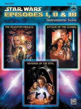 <I>Star Wars</I>®: Episodes I, II & III Instrumental Solos (AL-00-IFM0523CD)