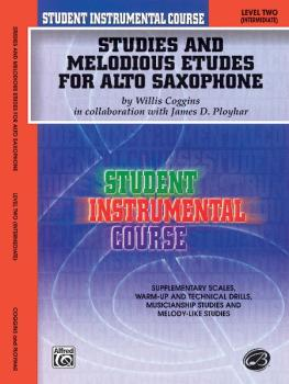 Student Instrumental Course: Studies and Melodious Etudes for Alto Sax (AL-00-BIC00232A)