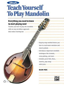 Alfred's Teach Yourself to Play Mandolin: Everything You Need to Know  (AL-00-43008)