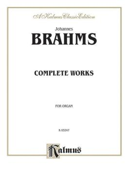 Complete Organ Works (AL-00-K03247)