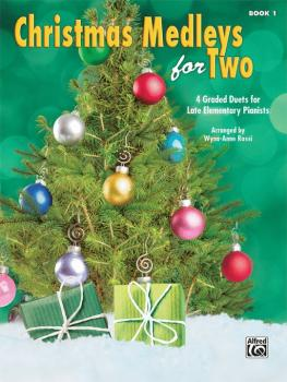 Christmas Medleys for Two, Book 1: 4 Graded Duets for Late Elementary  (AL-00-44756)