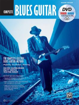 The Complete Blues Guitar Method: Complete Edition (Second Edition) (AL-00-45041)