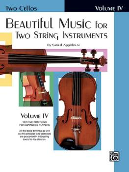 Beautiful Music for Two String Instruments, Book IV (AL-00-EL02228)