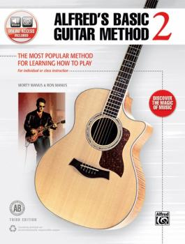 Alfred's Basic Guitar Method 2 (Third Edition): The Most Popular Metho (AL-00-45306)