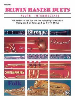 Belwin Master Duets (Flute), Intermediate Volume 2 (AL-00-EL03640)