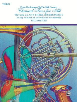 Classical Trios for All (From the Baroque to the 20th Century) (AL-00-EL96147)