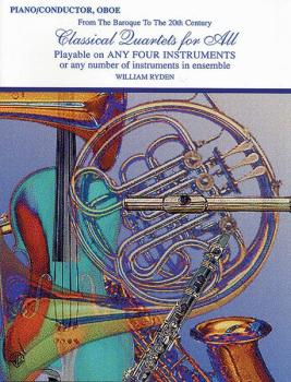 Classical Quartets for All (From the Baroque to the 20th Century) (AL-00-EL96158)