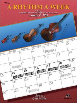 A Rhythm a Week: Based on <I>A Rhythm a Day</I> by Igor Hudadoff (AL-00-EL9804)