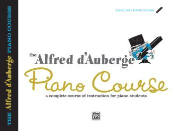 Alfred d'Auberge Piano Course: Lesson Book 1: A Complete Course of Ins (AL-00-502)