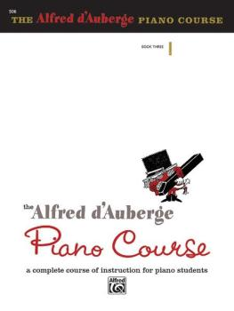 Alfred d'Auberge Piano Course: Lesson Book 3: A Complete Course of Ins (AL-00-506)