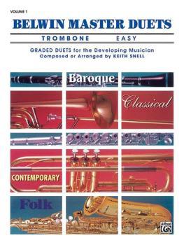 Belwin Master Duets (Trombone), Easy Volume 1 (AL-00-EL03288)