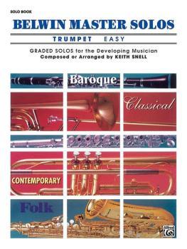 Belwin Master Solos, Volume 1 (Trumpet) (AL-00-EL03401)