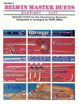 Belwin Master Duets (Clarinet), Easy Volume 2 (AL-00-EL03642)
