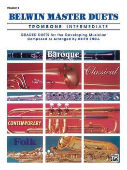 Belwin Master Duets (Trombone), Intermediate Volume 2 (AL-00-EL03652)