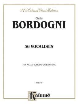 Thirty-six Vocalises in Modern Style (Spicker) (AL-00-K09149)