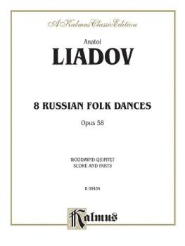 Eight Russian Folk Dances, Opus 58 (AL-00-K09434)
