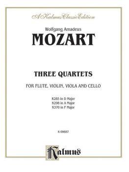 Three Quartets, K. 285, 298, 370 (AL-00-K09687)