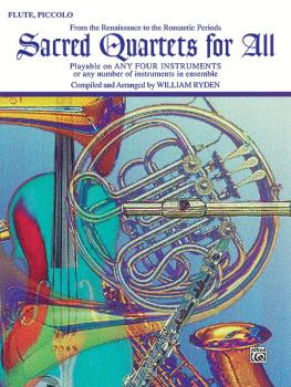 Sacred Quartets for All (From the Renaissance to the Romantic Periods) (AL-00-EL9769)