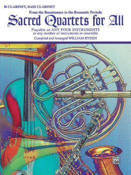 Sacred Quartets for All (From the Renaissance to the Romantic Periods) (AL-00-EL9770)