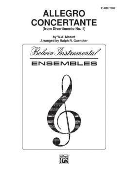 Allegro Concertante (from <i>Divertimo No. 1</i>) (AL-00-ENS00179)