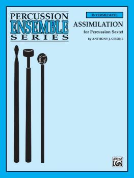 Assimilation (For Percussion Sextet) (AL-00-ENS00234)