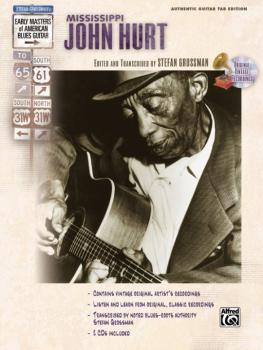 Stefan Grossman's Early Masters of American Blues Guitar: Mississippi  (AL-00-F3176GTA)