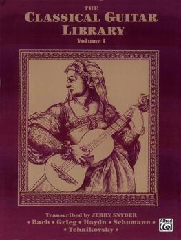 The Classical Guitar Library, Volume I (AL-00-F3201GTX)