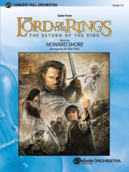 <I>The Lord of the Rings: The Return of the King</I>, Suite from (AL-00-FOM04002)