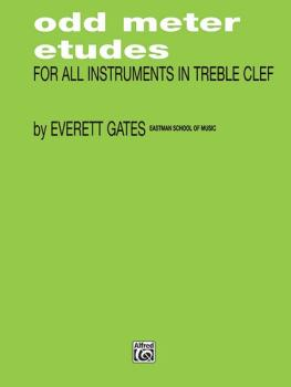Odd Meter Etudes for All Instruments in Treble Clef (AL-00-FXS6080)