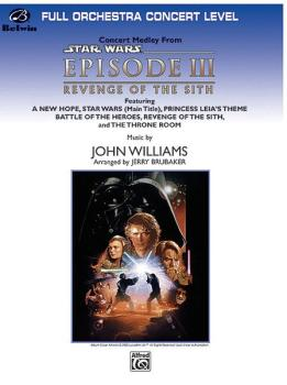 <I>Star Wars®:</I> Episode III <I>Revenge of the Sith,</I> Concert Med (AL-00-FOM05009)