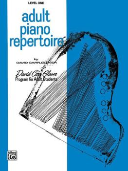 Adult Piano Repertoire, Level 1 (AL-00-FDL00859)