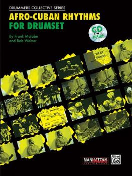 Afro-Cuban Rhythms for Drumset (AL-00-MMBK0001CD)