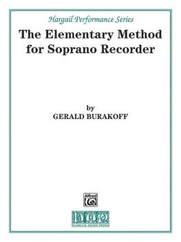 The Elementary Method for Soprano Recorder (AL-00-H55)