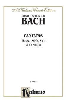 Cantatas Nos. 209, Non sa che sia dolore (Soprano); 210, O holder Tag  (AL-00-K00864)