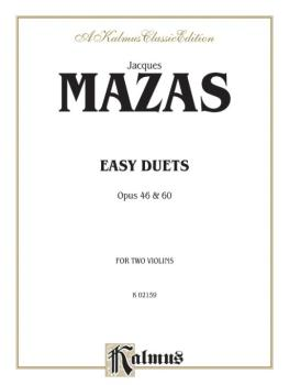 Easy Duets, Opus 46 and 60 (AL-00-K02159)