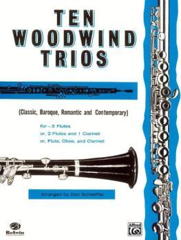 Ten Woodwind Trios (AL-00-PROBK01060)